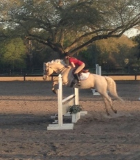 Me and Riley Jumping
