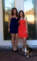 My friend and I going to homecoming 2013