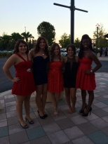My friends and I going to homecoming 2013